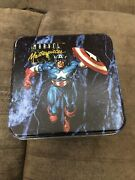 1992 Marvel Masterpieces Series 1 Collector's Tin Complete Set + Etch Set. Nm-m