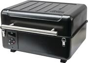 Wood Pellet Grill 184 Sq In Grilling Area Latched Lid Outdoor Include Meat Probe