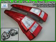 Cr-v Genuine Us Tail Light Left And Right With Bulb For Harness And Side Marker