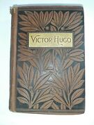 Vintage Victoria Hugo Les Miserables Book Hardcover Lovell And Co.
