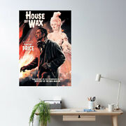 Retro Horror Movie House Of Wax- Mystery Of The Wax Museum Unframed Poster Decor