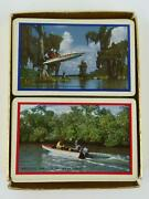 Western Auto Wizard Playing Cards Double Deck Outboard Motor Set Vtg