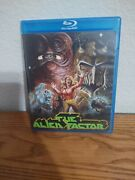 The Alien Factor 1978 Blu-ray Used Limted To 1000 Signed By George Stover Used
