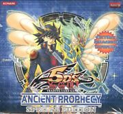 Yugioh 5ds Ancient Prophecy Special Edition 2009 New Display X10 Mini Boxes