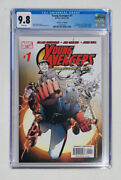Young Avengers 1 Cgc 9.8 1st Kate Bishop Wiccan Patriot Iron Lad Directors Cut