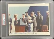 Ronald Reagan Signed Photo 8x10 President C Weinberger Nancy Signed Auto Psa/dna