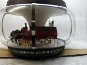 Very Rare - Budweiser Clydesdales Parade Motion Carousel. Lighted Pub Sign.