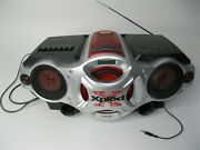Sony Xplod Cfd-g700cp Cd/radio/cassette Boombox Works