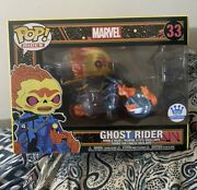 Ghost Rider Black Light Pop Funko Shop Exclusive Sold Out In Hand Ships Same Day