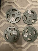 5 Lb X 4 Cast Iron Weight Plates 20 Pounds Total Free Shipping One Inch Hole 1andrdquo