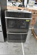 Ge Jtd5000enes 30 Slate Built-in Convection Double Wall Oven 111704