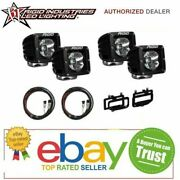 Rigid Radiance Pod White And Fog Light Kit And Harness Fits Ram 2500/3500 2010-2015