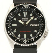 Seiko Diver 200m Stainless Automatic Day-date 42mm Ref 7s26-0029