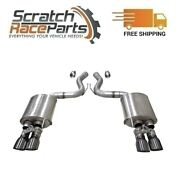 Corsa Valved Axle-back Exhaust System Quad Rear For 18-19 Mustang 304ss 21002gnm