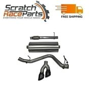 Corsa For 14-18 Chevy/gmc Cat-back Exhaust System With Dual Side Exit 14847blk