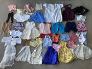 Vintage Doll Clothes Huge Lot Mixed Era And Sizes 20s 30s 40s 50s Antique