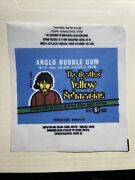 1968 Anglo The Beatles Yellow Submarine George Harrison Wax Wrapper Reprint Rare