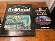 2 Railroad Collectibles Books Both By Stanley Baker, Pictures And Prices, See Pics