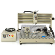 Usb Cnc 6090 Router 4 Axis Engraver Machine 1.5kw Metal Wood Milling Drill+rc