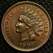 Uncirculated 1903 Indian Head Cent