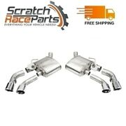 Corsa Axle-back Exhaust System Quad Rear Exit For 16-21 Camaro 304 Ss 14789