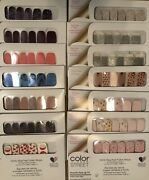 Lot Of 50 Sets New And Sealed Color Street Nail Polish Strips Assorted Variety
