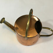 Vintage Copper Small Water Can Made In England Farmhouse Doll House 3 Tall