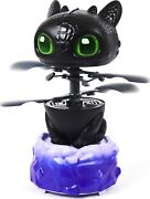 Dreamworks Dragons Flying Toothless Interactive Dragon With Lights And Sounds, F