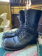 11.5 D Corcoran Boots Menandrsquos Black Leather Military Smokejumper Paratrooper