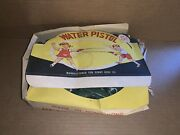 Vintage 1950's Complete Set Of Kids Water Pistol Toys By Penny King Company