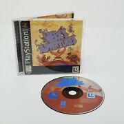 Rare Herc's Adventures Ps1 Playstation 1 Complete Disc Is In Mint Condition