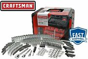 Craftsman 450 Piece Pc Mechanicand039s Tool Set With 3 Drawer Case Box 320 230 🔥🔥🔥