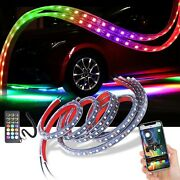 Color Chasing Ip68 300 Led Strip Under Car Underglow Underbody Neon Lights Kit