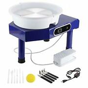 25cm Lcd Display Touch Screen Electric Pottery Wheel Machine Diy Clay Art Craft
