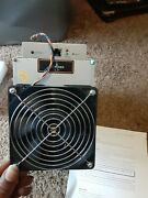 Bitmain Antminer L3+ 504mh With Apw3++ Power Supply - Doge And Ltc Mine - Tested