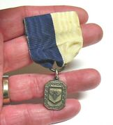 Vintage Air Force Pin Medal Personalized On The Back Made In Attelboro Ma