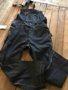 Rrl Double Rl Women's Roper Jacket Rigid Blue Size M Salvaged Overall Heartland