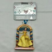 Belle Fairytale Moments Sketchbook Ornament – Beauty And The Beast - Nwt