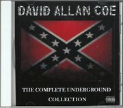 David Allan Coe Cd - 22 X Rated Hits - Underground + Nothing Sacred Allen