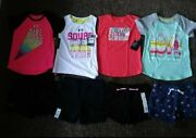 Nwt Girls 4/4t Summer Bundle. Under Armour Brands Included.