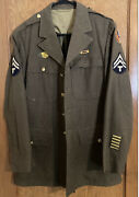 Ww2 Wwii 13th Us Army Air Forces Pacific Tech Sgt Patch Wool Dress Uniform 40r