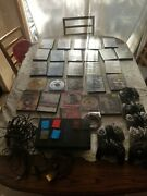 Sony Ps2 Console Scph-35001 - 7 Controllers, 6 Memory Cards And 26 Video Games