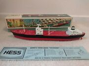 1966 Hess Voyager Truck / Ship W/ Original Box And Card