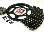 Suzuki Drz400s 2000-2019 Colors Rk Racing X-ring Chain And Black Sprocket Kit