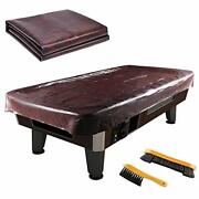 Leather Pool Table Cover - Billiards Pool Table Accessories Set, Premium 8ft