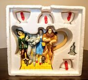 Department 56 Wizard Of Oz Tea Set - Storybook Village Collection Teapot And Cups