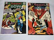 The Hawk And The Dove 1 And 2 Dc 1968 Key Issues Ditko Vf Comic Titans Tv Show