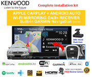 Kenwood Dnx9190dabs For Jaguar X-type 2002-2015 Car Stereo Upgrade