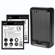 2x 5250mah Battery For Samsung Galaxy Siii S3 Sph L710 With External Charger