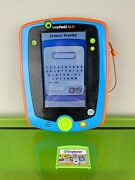 Leapfrog Leappad 2 Glo Explorer Tablet Blue And Orange- With Stylus And Cartridge